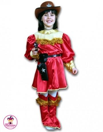 Kostium Kowbojka Czerwona