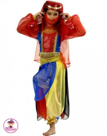 Kostium Jasmina czerwona