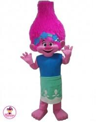 Kostium reklamowy Poppy Troll