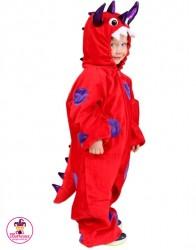 Kostium Monster czerwony