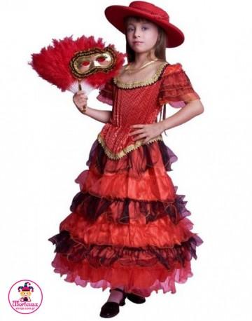 Kostium Hiszpanka w kapeluszu