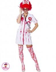 Kostium Krwawa Pielęgniarka