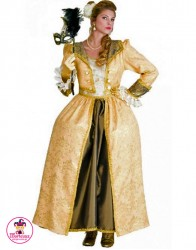 Strój Baronowa gold
