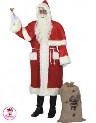Strój Święty Mikołaj Lux Długi