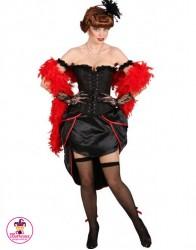 Strój Burlesque Czarna