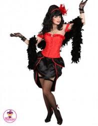 Strój Burlesque Czerwona