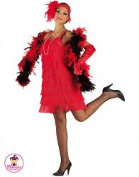 Sukienka Flapper czerwona