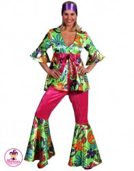 Strój Hippie Girl pink