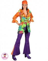 Strój Hippie Girl orange
