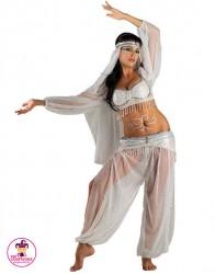 Strój Bollywood white