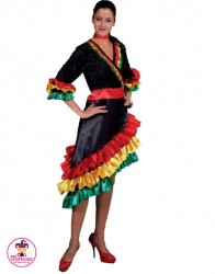 Strój Hiszpanka kolor