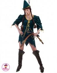Strój Pani Robin Hood green