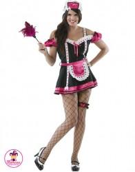 Strój Pokojówka pink