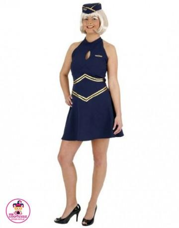 Strój Stewardessa Sukienka