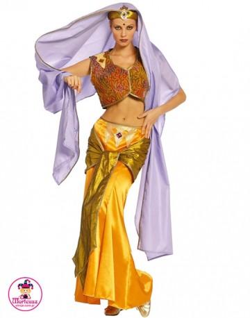 Strój Tancerka Hinduska złota