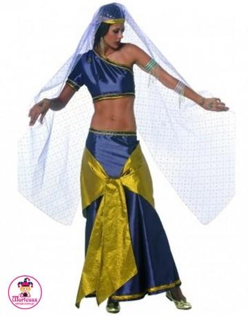 Strój Tancerka Hinduska szafirowa