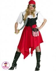 Strój Piratka Red