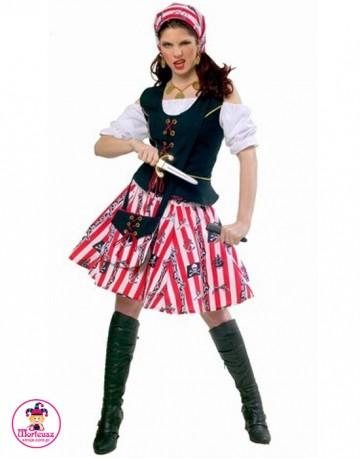 Strój Piratka w Pasy