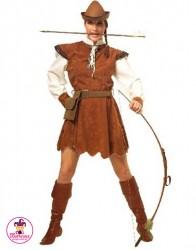 Strój Pani Robin Hood z Łukiem