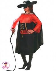 Strój Zorro Kobieta