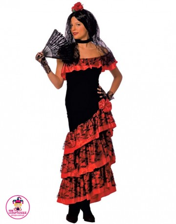 Strój Hiszpanka Lady