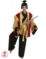 Strój Samuraj Złoty