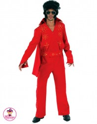 Strój Elvis Czerwony