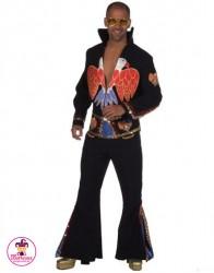 Strój Elvis Lux Czarny