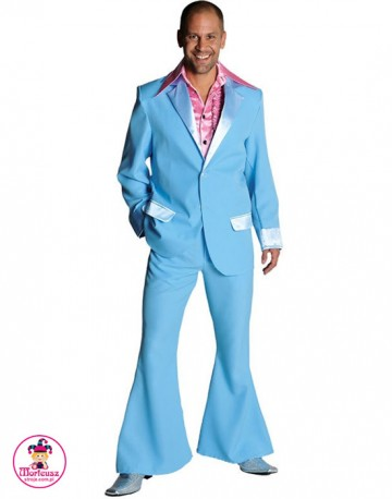 Garnitur Disco Błękit