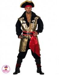 Strój Pirat Złoty