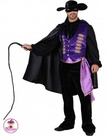 Strój Zorro z Pejczem
