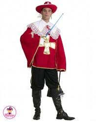 Kostium Muszkieter Czerwony