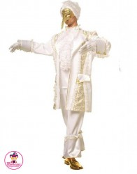 Kostium Markiz Biały