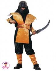 Kostium Ninja Złoty