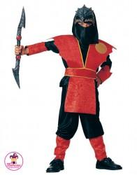 Kostium Ninja czerwony