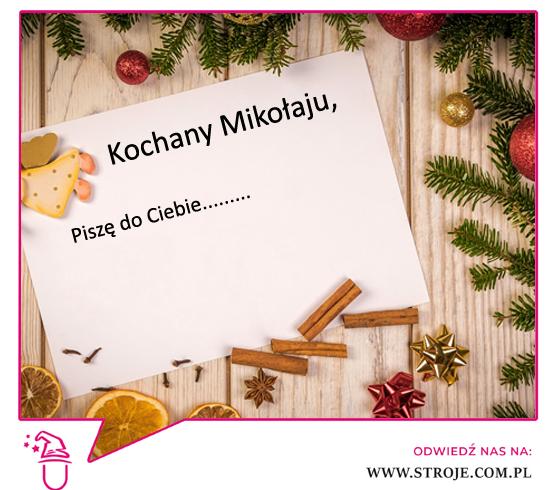 Jak pisac list do swiętego Mikołaja