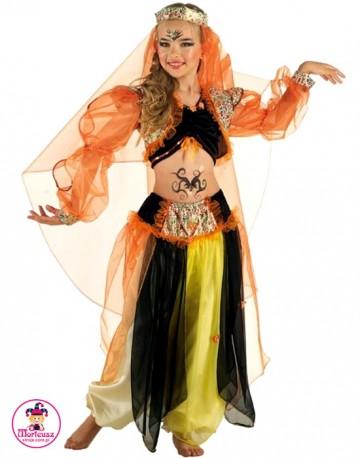Kostium Jasmina pomarańczowa