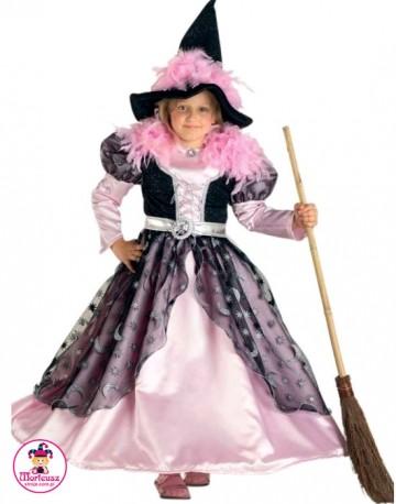 Kostium Czarownica różowa