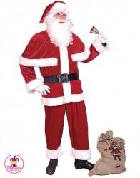 Strój Święty Mikołaj Mega Lux