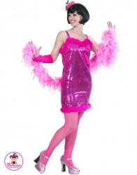 Strój Glamour Girl róż