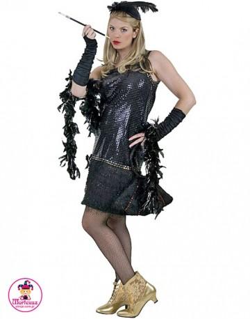 Sukienka Flapper czarna