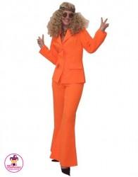 Strój Hippie Garnitur orange