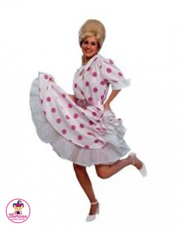 Sukienka karnawałowa Lata 50-te grochy