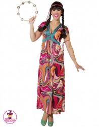 Strój Hippie Sukienka