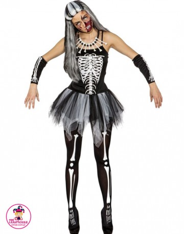Strój Baletnica Szkieletor