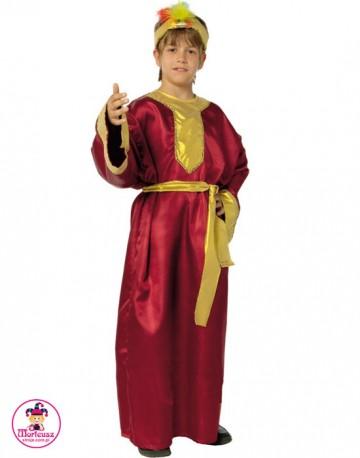 Strój Król Baltazar Czerwony
