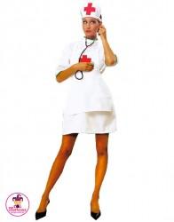 Strój Pielęgniarka skupiona