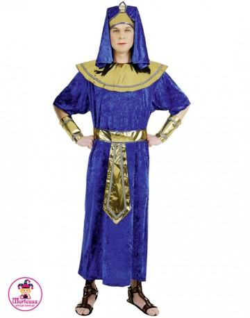 Strój Faraon Niebieski