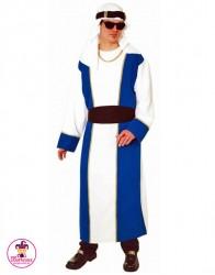 Kostium Arab Biało-Niebieski