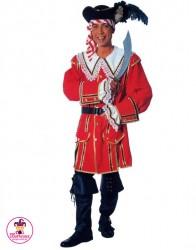 Strój Pirat Czerwony